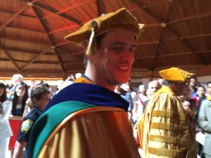 Jim Carrey at #MUM Graduation