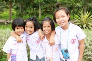 Helping At-Risk Girls in Thailand Succeed