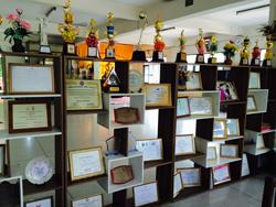 Awards at the Dhammarjarinee Witthaya school