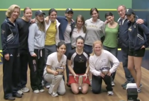 Trinity College Squash Team of 2010